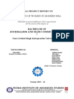 Condition of women in modern era- FP