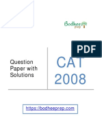 CAT-2008-Question-Paper-with-Solution