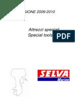 D-SPECIAL TOOLS - ATTREZZI SPECIALI 2009-2010