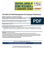 The_Effect_Of_Profit_Management_On_Company_Performance