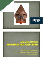 ANALISIS KISI-KISI DAN MATERI 2020-ZAMRONI