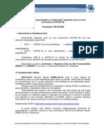 Metodologia de Supraveghere a Sindromului Respirator Acut Cu Noul Coronavirus (COVID-19)