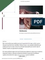 Cómo eliminar la caspa fácilmente.pdf