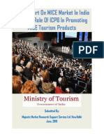 Final Report On MICE Market In India And The Role Of ICPB In Promoting MICE Tourism Products