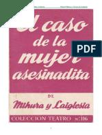 Mihura, Miguel y Laiglesia, Alvaro de - El Caso de La Mujer Asesinadita