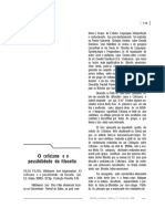 Angélica Aparecida Ferreira - O Ceticismo e a Possibilidade da Filosofia