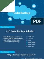 CubeBackup Introduction