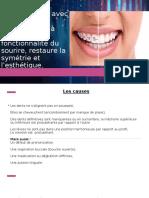 Le Traitement Orthodontique Avec Un Appareil Dentaire,