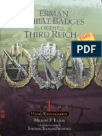 German Combat Badges of the Third Reich Vol 1 - Heer & Kriegsmarine