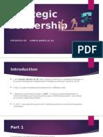 Strategic Leadership - 3 Parts - Hamda Ahmed Al Ali