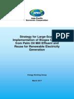 217_EWG_Biogas from Palm Oil Mill Effluent_Final Report for APEC Secretariat