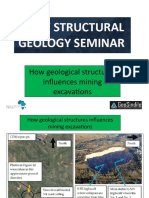 How Geological Structures Influences Mining Excavations