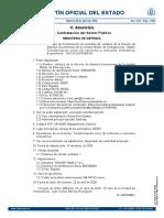 Contrato ambulancias UME