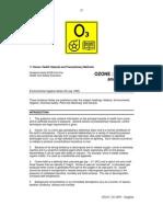Ozone Health and Precautionary Measures