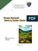 Parque Sierra de la Culata (Sector Santa Rosa).