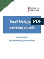 Tema 09 - Estrategias de crecimiento y desarrollo (2018).pdf