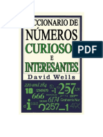 Wells David - Diccionario De Numeros Curiosos E Interesantes