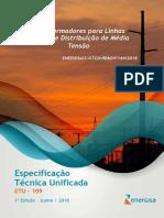 ETU_109_Transformadores_para_Linhas_Aéreas_de_Distribuição_de_Média_Tensão