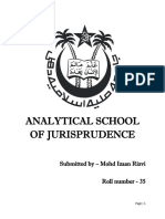 ANALYTICAL SCHOOL