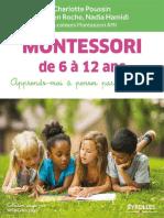 Charlotte Poussin_ Hadrien Roche_ Nadia Hamidi - Montessori de 6 à 12 Ans_ Apprends-moi à Penser Par Moi-même (2017, Eyrolles)