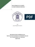 Askep Kritis pada Pasien Sindrom nefrotik (Artika).doc