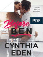 Before Ben (Wilde Ways Book 3) - Cynthia Eden (1).epub