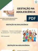 Aula 4 - Gestação na Adolescência