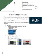 Instruction XCOM on 4 series