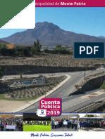 Cuenta Publica Municipalidad de Monte Patria 2020