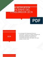 LA RESPUESTA EFICIENTE DEL CONSUMIDOR (ECR