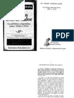 Botana, Natalio_ El orden conservador_ Cap. 1 Los orígenes del régimen del 80