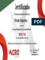 NFPA 70 e Fredy Esparza(1)