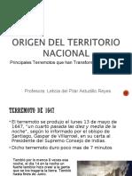 Clase2_Origen del Territorio Nacional_Terremotos.ppt
