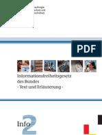 Info-Flyer zum Informationsfreiheitsgesetz
