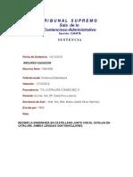 TS SCA S4 Sentencia RC 796-2009