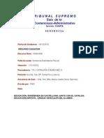 TS SCA S4 Sentencia RC 1839-2009
