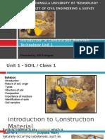 Class#1 Soil.