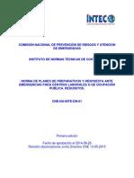 NORMA DE PLANES DE PREPARATIVOS Y RESPUESTA ANTE