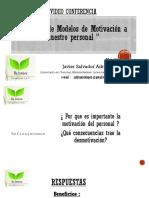 4. Análisis de Modelos para Motivación a nuestro Personal