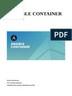 Memoria-Ansible-Container