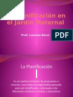 La Planificación en el Jardin Maternal