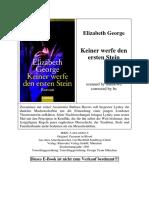 George, Elizabeth - 02 - Keiner werfe den ersten Stein