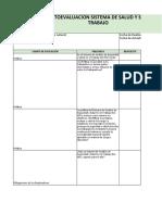 2. Instrumento de evaluación SGSST