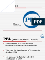 Marketing Plan of Pel