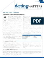 Marketing Matters, June 2002