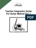 Teacher Guide Guitar