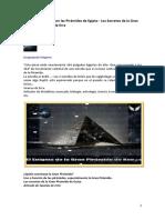 Quienes Construyeron las Pirámides de Egipto