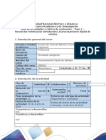 Guía de actividades y rúbrica de evaluación - Paso 1.1 -