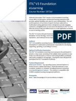 Brochure Pultorak ITIL V3 Foundation eLearning