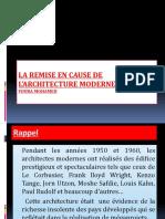 Cours 1 HCA La remise en cause de l'architecture moderne.ppsx